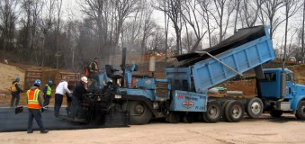 Paving of Rose Hill Subdivision