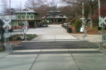 Finished Crossing at Pullen Park