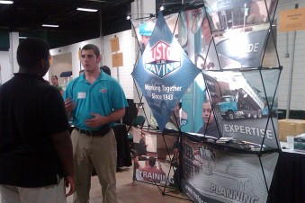 Ruston Paving at Guilford County Career Fair