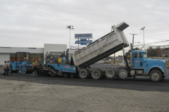 Paving at Ourismen Chevrolet