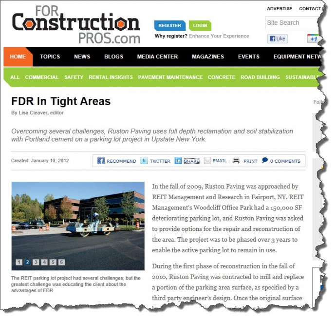 FDR in Tight Areas Article