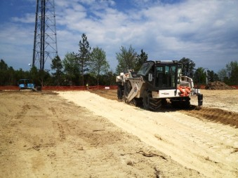 Stabilizing Page Road Site
