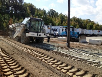YRC Freight - Baltimore, Maryland - Ruston Paving