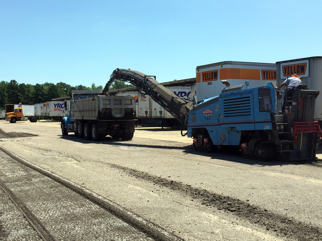 YRC Freight - Richmond, Virginia - Ruston Paving
