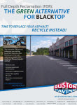 Thumbnail image of Ruston Paving's Full Depth Reclamation flyer