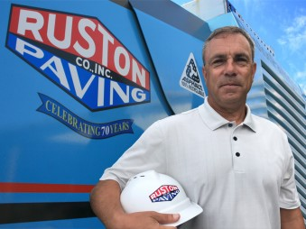 Ruston Paving President - Don Clark