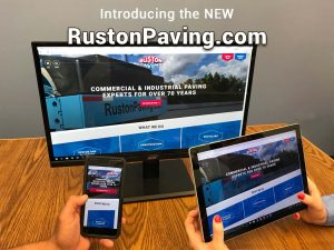 New RustonPaving.com Website Announcement