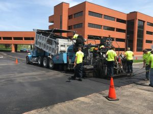 Paving at Paychex