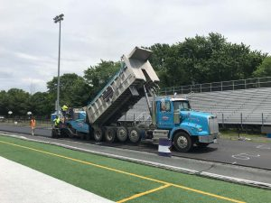 Paving at Chantilly HS Track