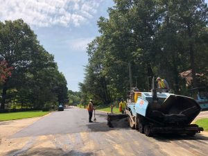 Brookgreen Drive (paving)