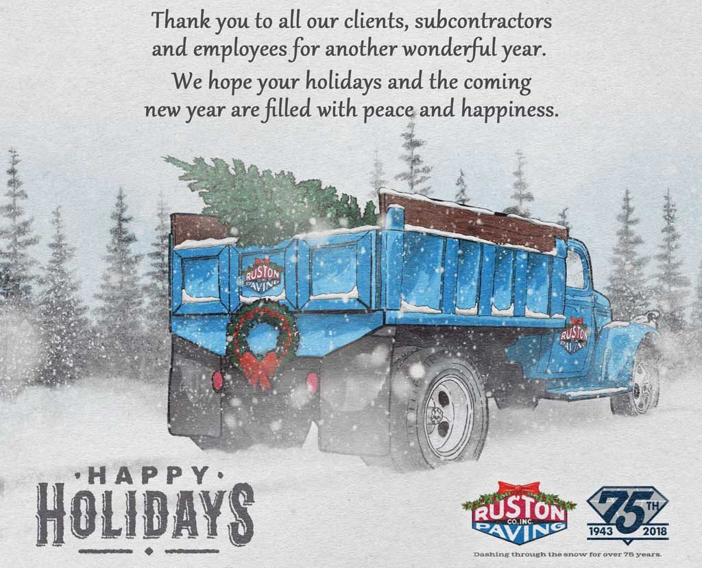 2018 Happy Holidays Message