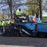 Paving at Woodlawn Cemetery