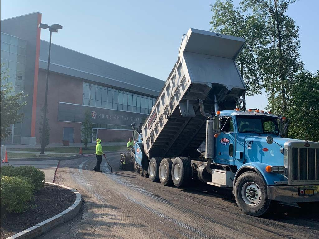 Paving at RIT