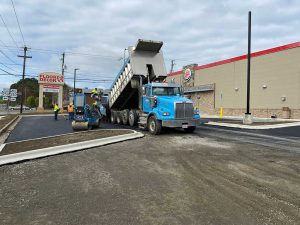 Burger King - paving