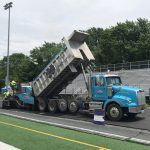 Paving Chantilly HS Track