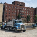 Paving at Samaritan Hospital (featured)