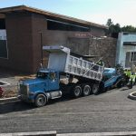 Paving at Autism Center