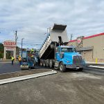 Paving Burger King